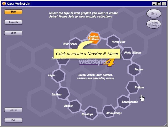 Create Navigation Bars and